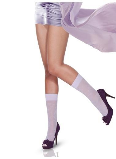 Pierre Cardin Çorap Mor